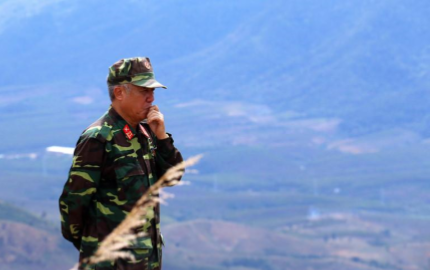 Colonel Nguyen The Tan, Commanding General 320th NVA Division