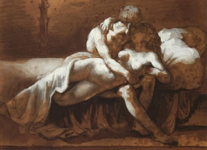 Theodore Jean Louis Gericault, 'The Kiss'
