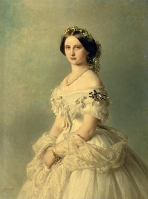 Franz Xavier Winterhalter, Portrait of Princess of Bade