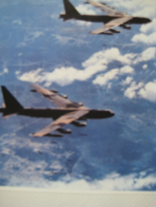 B-52's, used tactically and decisively during the Easter Offensive - 1972