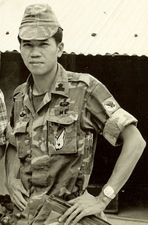 LTC Le Van Me, Commander Hero during 'The Battle for Charlie'