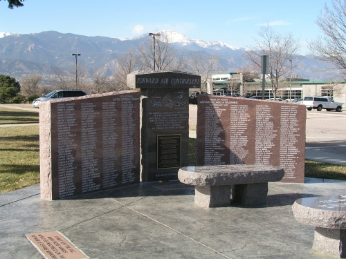 Forward Air Controller's Memorial Monument, Colorado Springs, Colorado  DOUBLE CLICK to ENLARGE