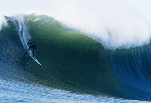 Maverick Wave, Photo by Charlie Witmer (2012)