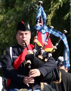 Richard Charette - Pipe Major Fremont Police  Department (California)