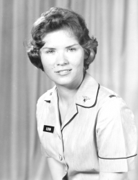 Nurse in uniform