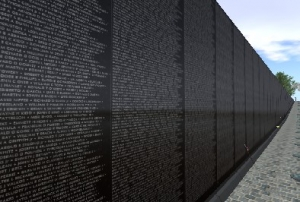 Vietnam War Memorial in Washington, D.C.